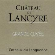 Etiquette de Grande Cuvee vin blanc Chateau de Lancyre AOC Coteaux du Languedoc